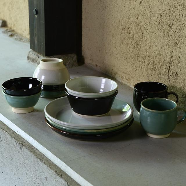 益子焼の飯碗