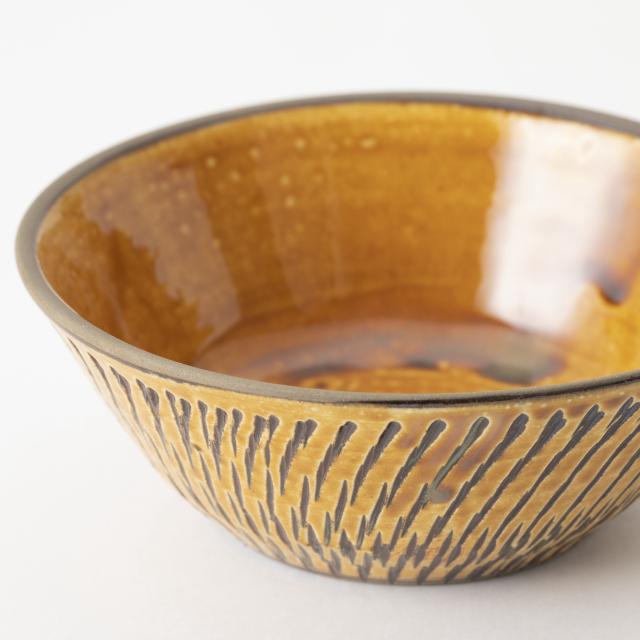 小鹿田焼の中鉢
