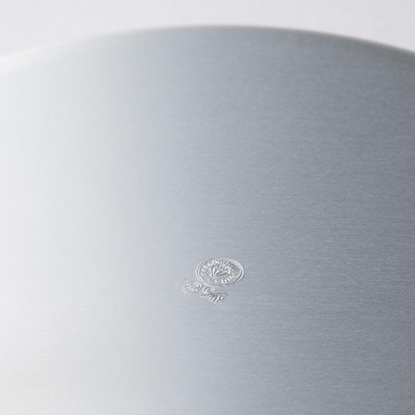 ダイヤ印 アルミ丸皿 シルバー 15cm