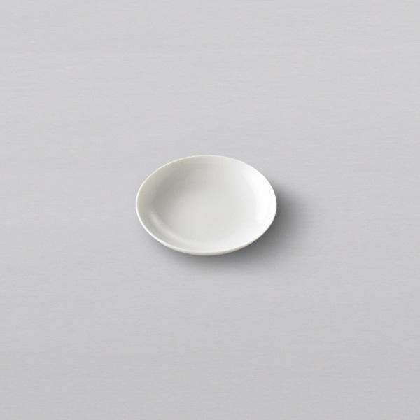 THE PLATE WHITE A6サイズ(直径105mm)