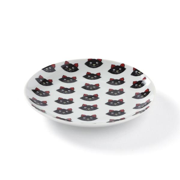 KUTANI SEAL CAT 丸皿