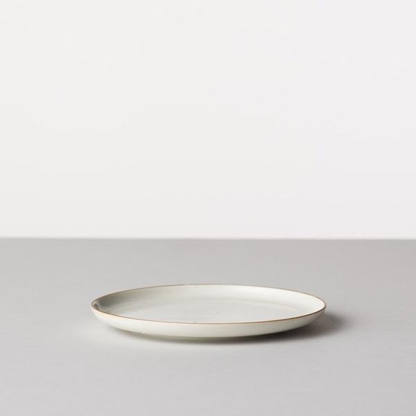 BARBAR 白磁尺掛け 皿 5寸皿