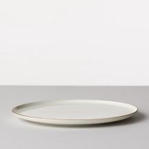 BARBAR 白磁尺掛け 皿 8寸皿