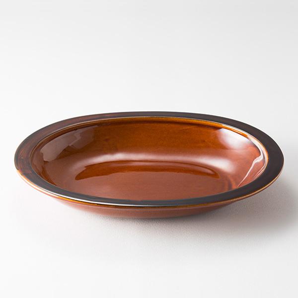 萬古焼のカレー皿