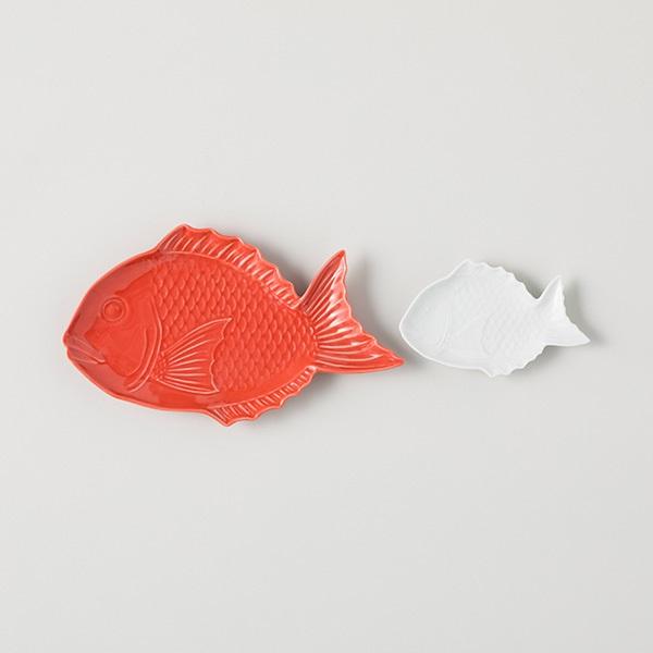BARBAR 縁起物 祝い鯛 中皿