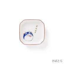 KUTANI SEAL ネコ・ジェラシー 角小皿