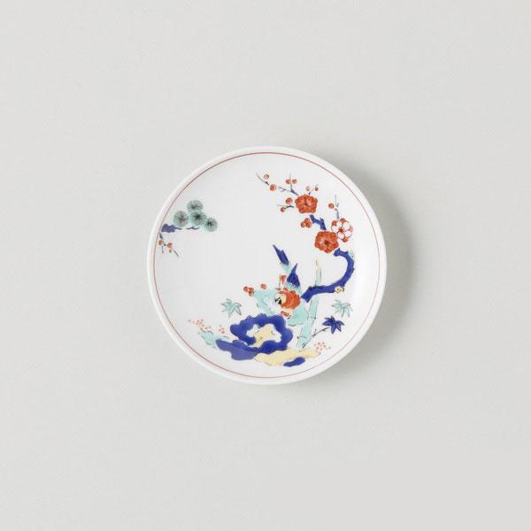 BARBAR 蕎麦猪口大事典 色絵 小皿