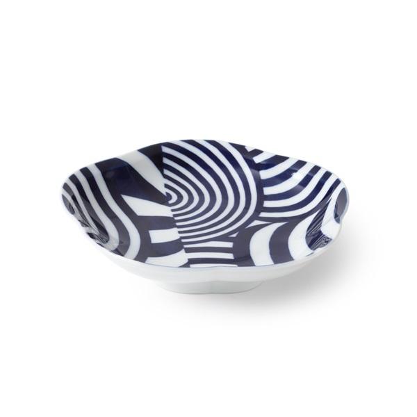 KOSEN 藍鍋島 高台皿