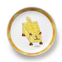 【予約商品:2019年4月以降順次発送】ワイズベッカー九谷焼 大皿