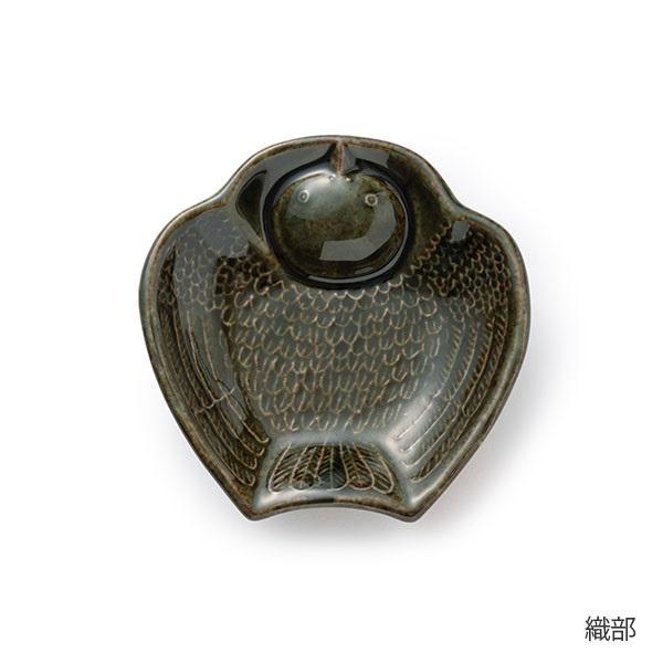 倉敷意匠 ふくら雀の陽刻豆皿