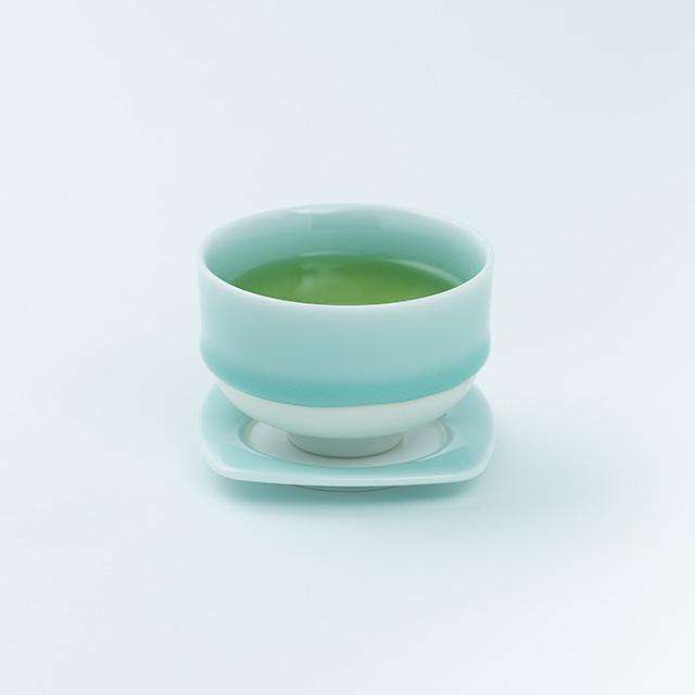 鍋島 虎仙窯 鍋島青磁茶托 1個入