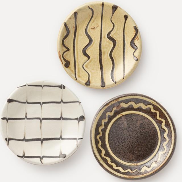 丹波焼の豆皿