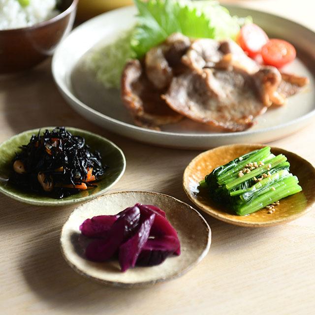 信楽焼の豆皿