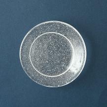 江戸硝子の豆皿 泡