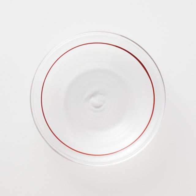 大阪の硝子豆皿