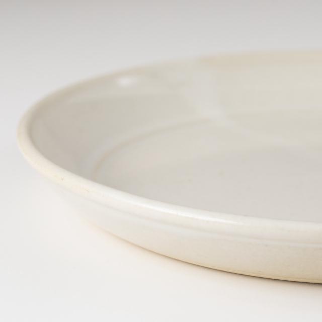 益子焼の平皿