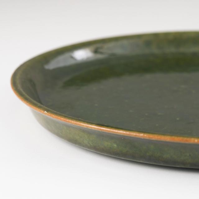 美濃焼の平皿