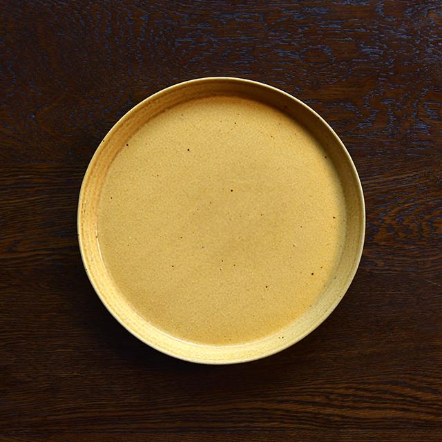 信楽焼の平皿