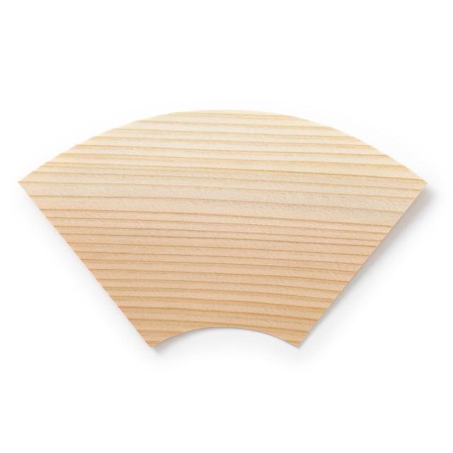 縁起の杉板皿