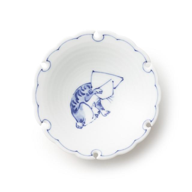 有田焼の小皿 猫