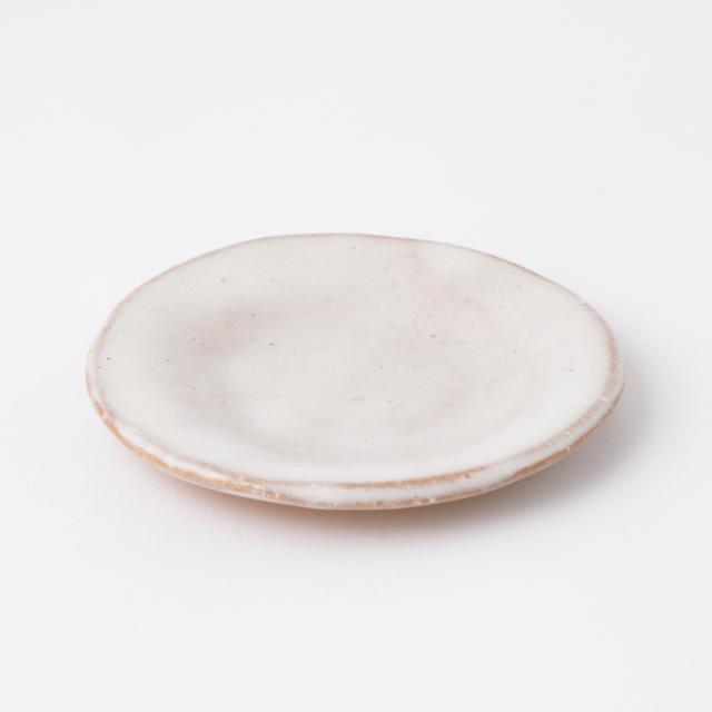 萩焼の豆皿 取皿 小白