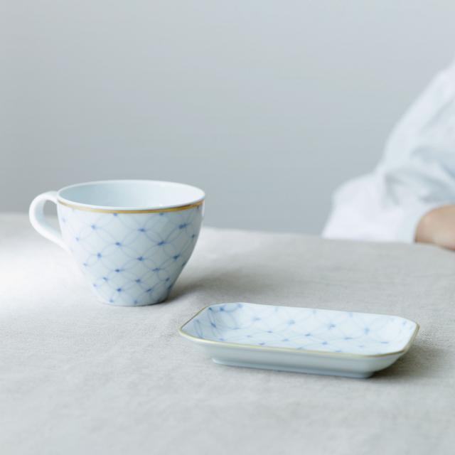 mg&gk フィナンシェと紅茶の器 プレート