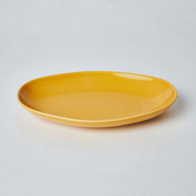 六角オーバル皿