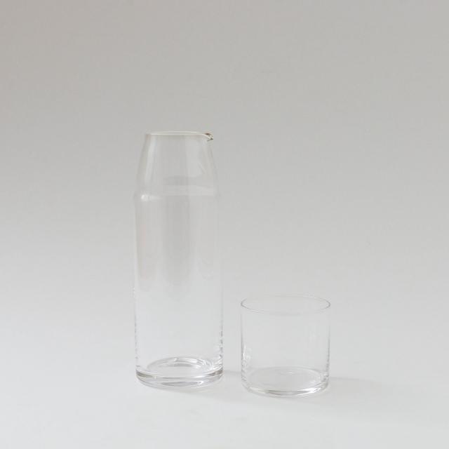 菅原工芸硝子 ナイトカラフェ クリア 360ml