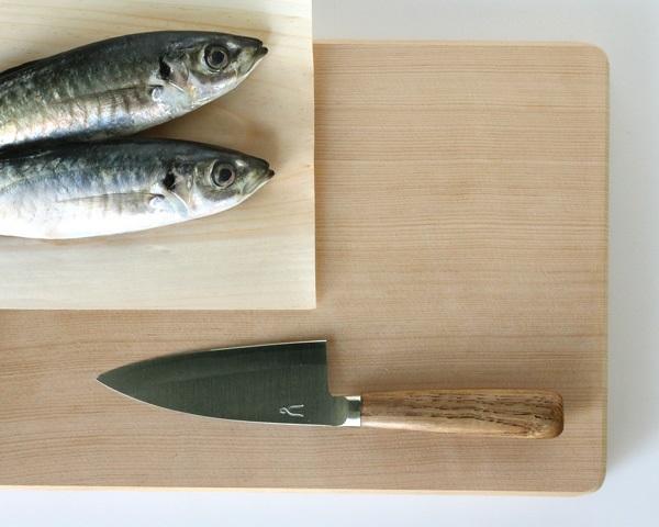 タダフサ 包丁 出刃105mm 小出刃