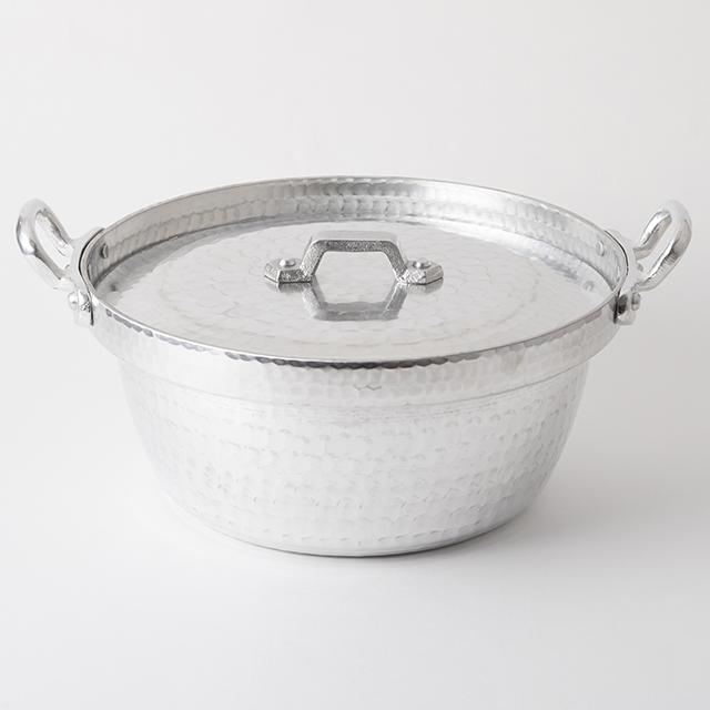 姫野作. 段付鍋用 蓋 アルミ 8寸