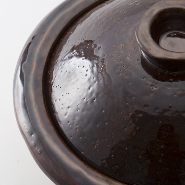 土鍋 飴釉