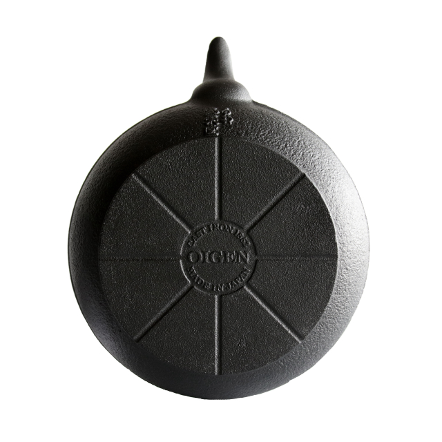 「IH使用可」及源鋳造 南部鉄瓶 東雲アラレ 1L