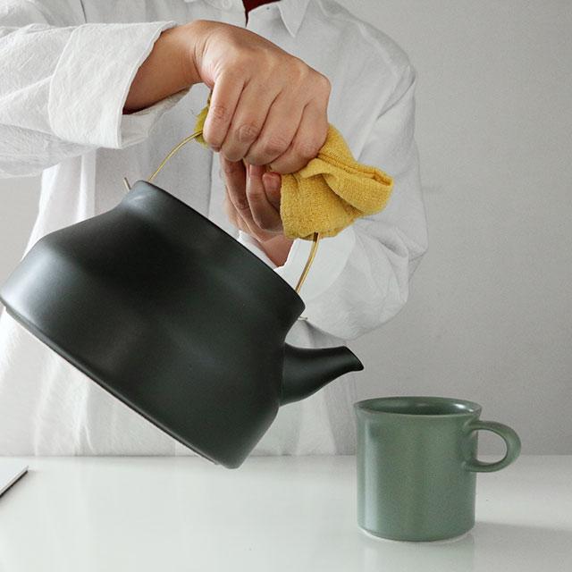 かもしか道具店 陶のやかん