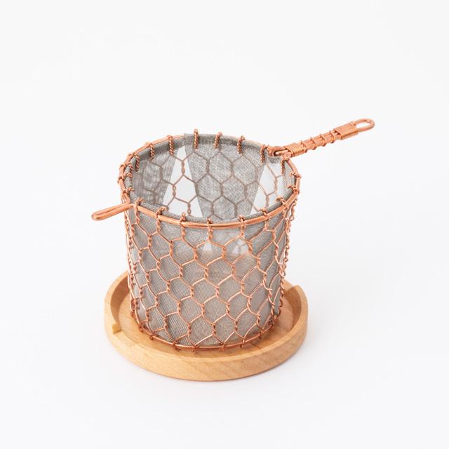 一杯のための金網茶漉し