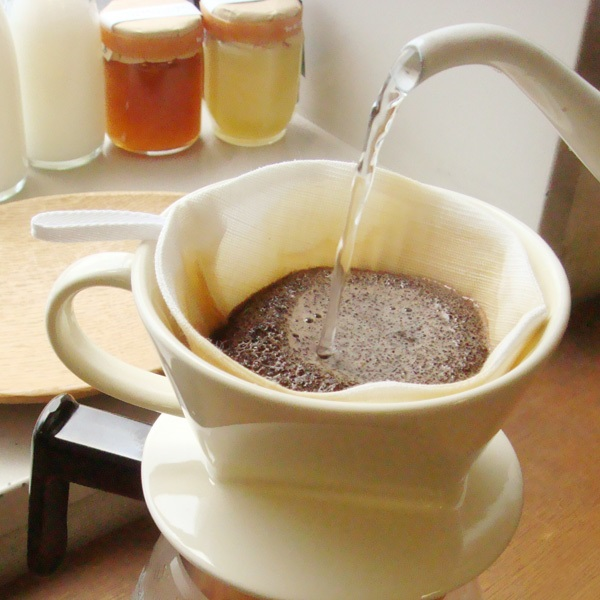 茶巾生地のコーヒーフィルター