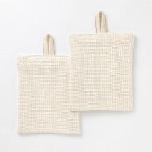 手紡ぎ綿食器洗い