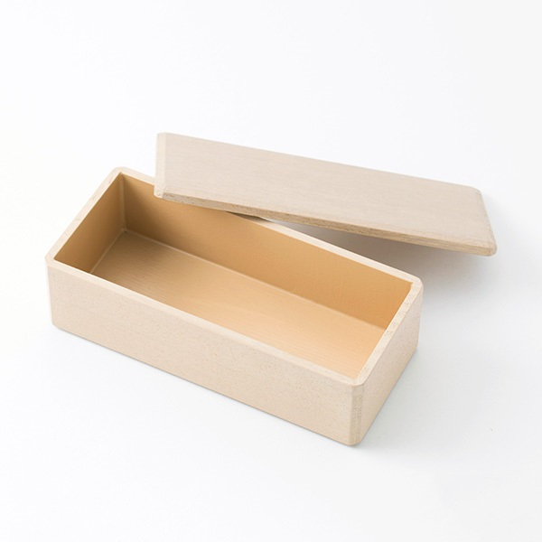 漆琳堂 長手角のお弁当箱
