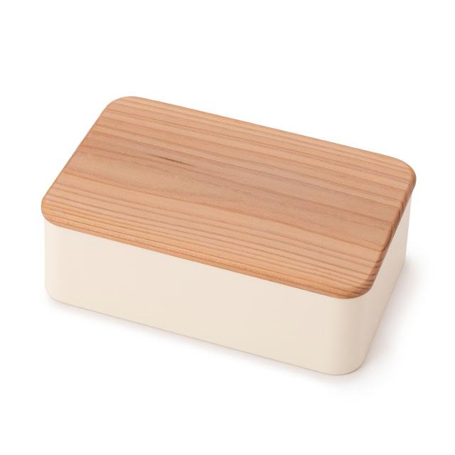 ごはん粒のつきにくい弁当箱 木蓋
