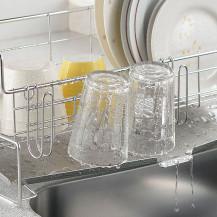 家事問屋 水切り用グラスホルダー