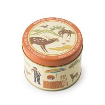【奈良限定】ご当地缶 奈良 鹿のおせんべい