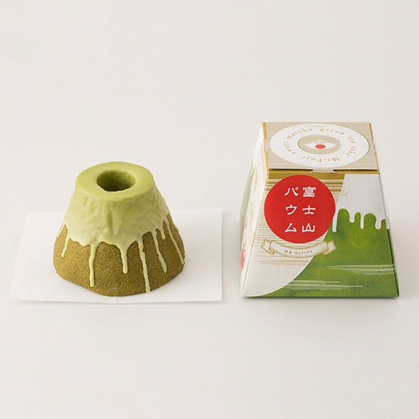 富士山バウム 抹茶