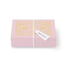 桜緑茶と桜あられ