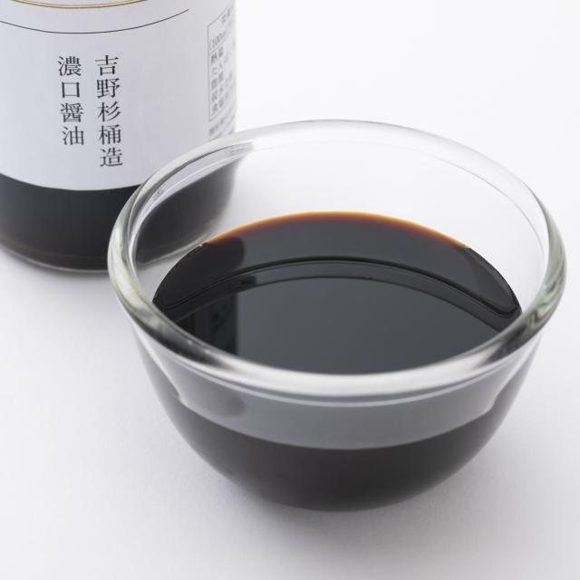 吉野杉桶造濃口醤油 360ml