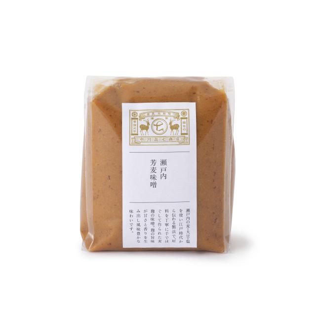 瀬戸内芳麦味噌 500g