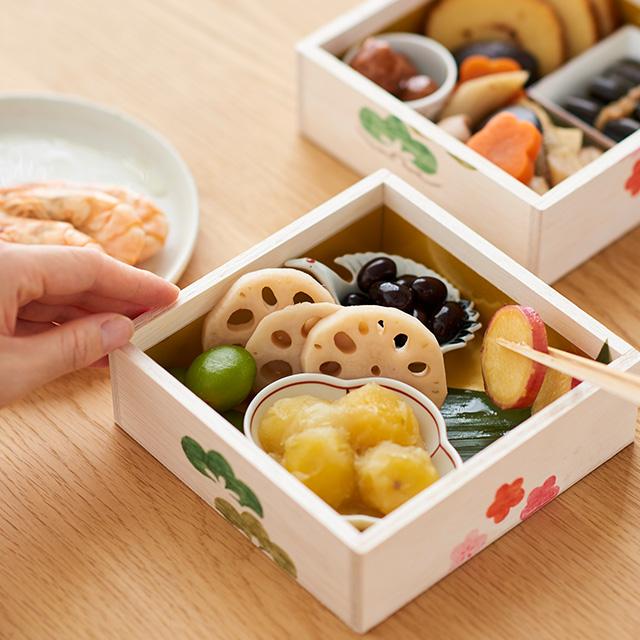 【WEB限定】【予約商品】親子で楽しむ お重とおせち(石井食品のおせち付き)