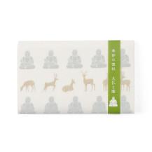 季節の懐紙 大仏と鹿