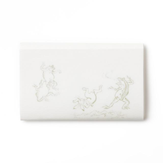 懐紙 鳥獣戯画