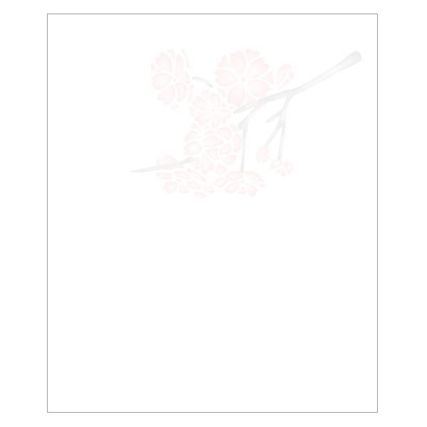 春の懐紙 六種の桜