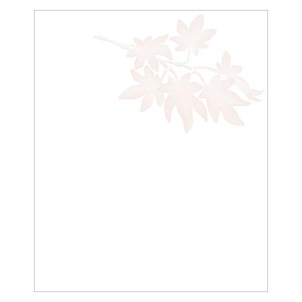 秋の懐紙 六種の草木