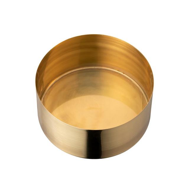 茶論 建水 真鍮